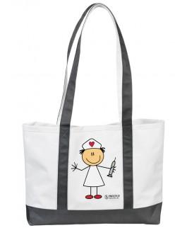 Große Leinwand Tasche Stick Nurse MedicusXL