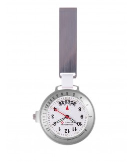 Swiss Medical Uhr Care Line Clear View Silber MedicusXL
