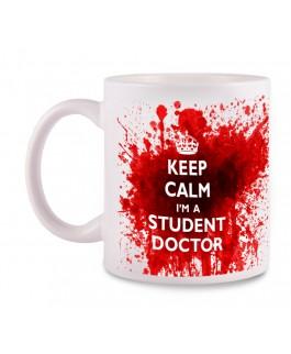 Tasse Student Doctor mit Namensaufdruck