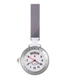 Swiss Medical Uhr Care Line Silber