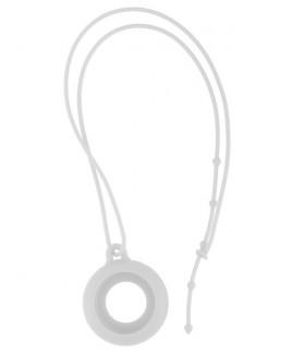 Silikon Schlüsselband Weiß