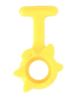Silikongehäuse Frühlingsblume Gelb
