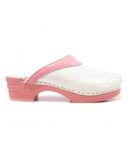 LAST CHANCE size 42 Moofs Pink and White