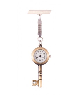 Schwesternuhr Traditioneller Schlüssel Bronze