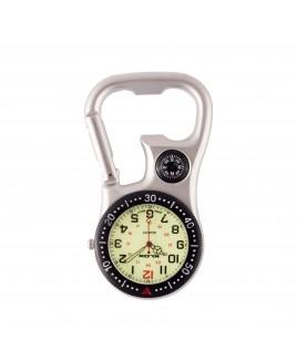 Karabiner Uhr NOC463 Schwarz