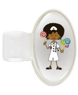 Stethoskop Namensschild Candy Nurse